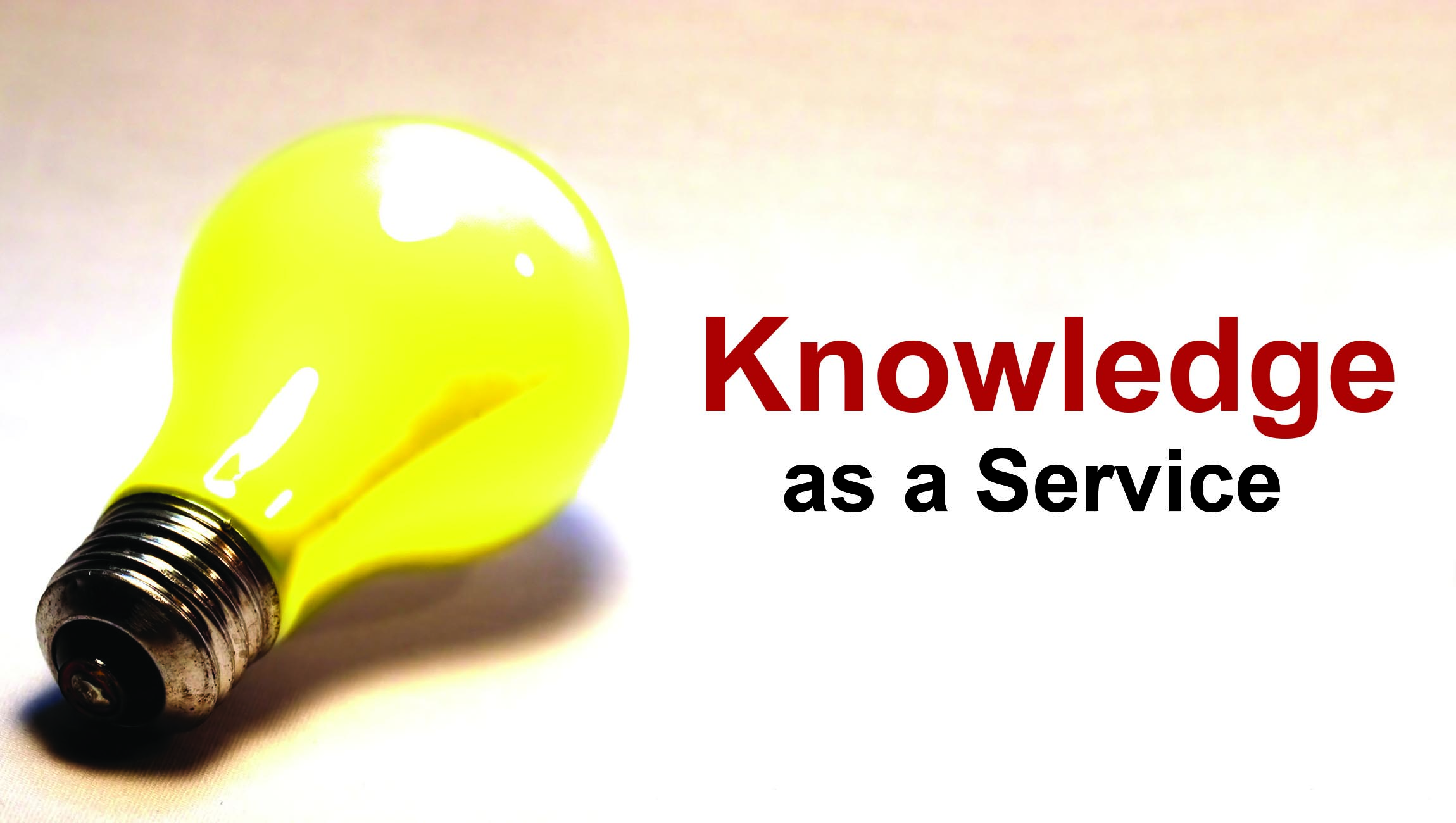 Knowledge as a