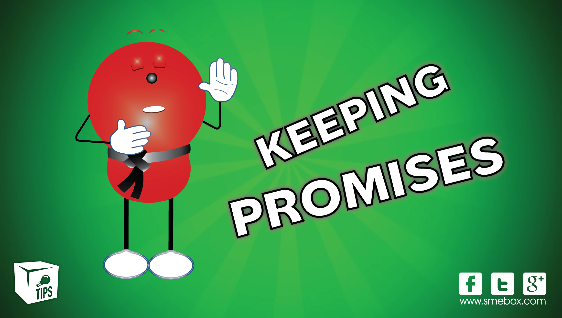 Keep your promi